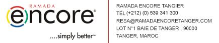 Ramada encore tanger
